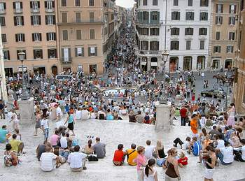 The Spanish Steps - the most famous staircase in the world